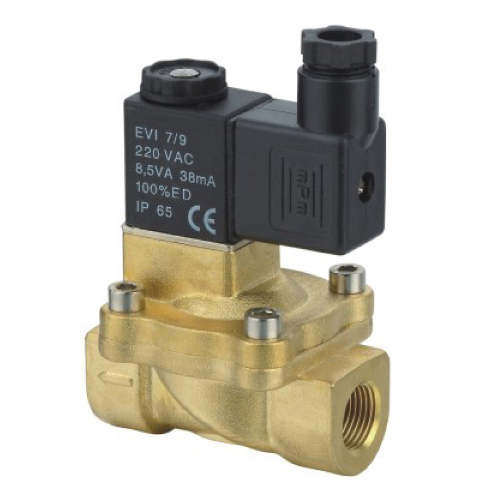 2V130 Brass 2 way Solenoid Valve